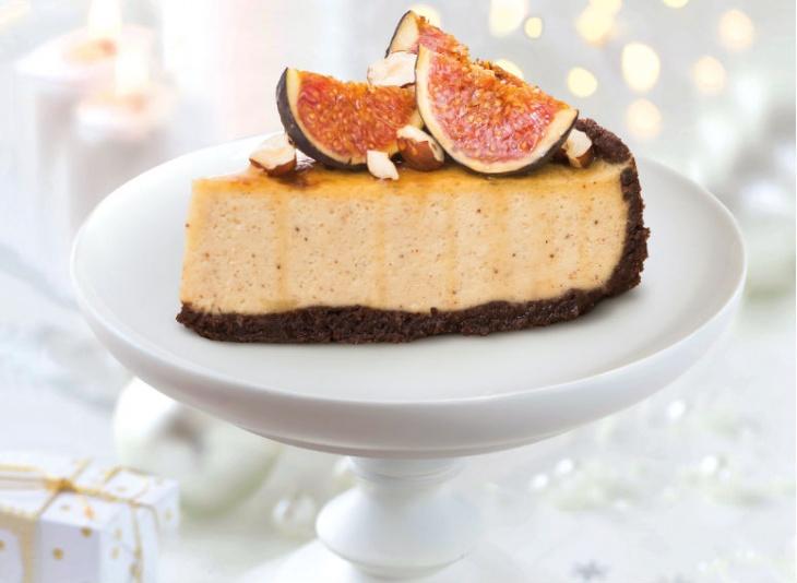Vianočný bezlepkový cheesecake s perníkovým korením