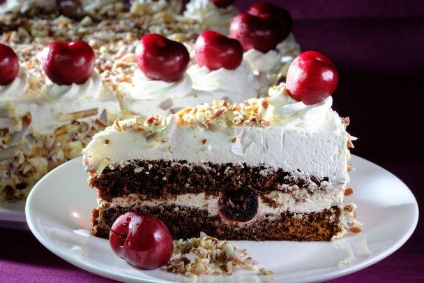 Výsledok vyhľadávania obrázkov pre dopyt Rýchla bezlepková Schwarzwaldská torta