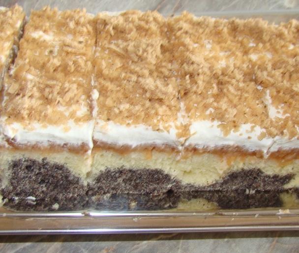 Obrátený jablkovo-makový koláč (fotorecept) - obrázok 10 1f316f02994