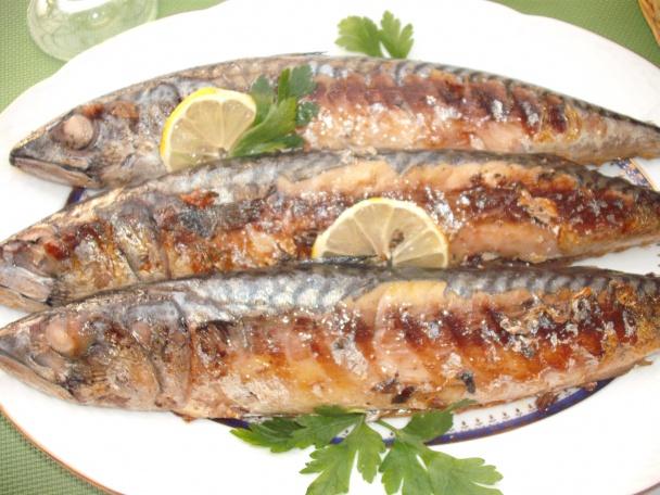 Výsledok vyhľadávania obrázkov pre dopyt Makrela pečená-grilovaná