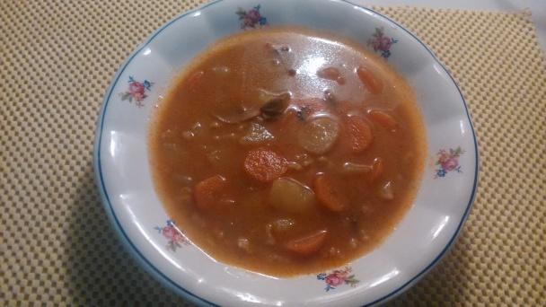 f248f8c22 Melencová polievka (fotopostup) - obrázok 9