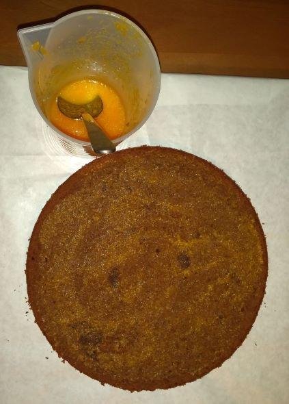 Šťavnatá čokoládová torta s mascarpone krémom a mandarínkami (fotorecept) -  obrázok 2 e2e861b90e7