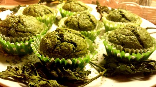 Výsledok vyhľadávania obrázkov pre dopyt Špenátové muffiny s prekvapením