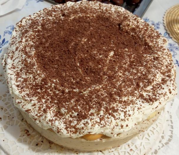 Gaštanová mramorovaná torta (fotorecept) - obrázok 13