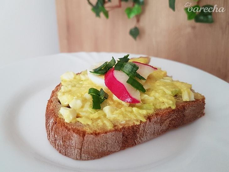 Vajíčkovo-cuketová nátierka