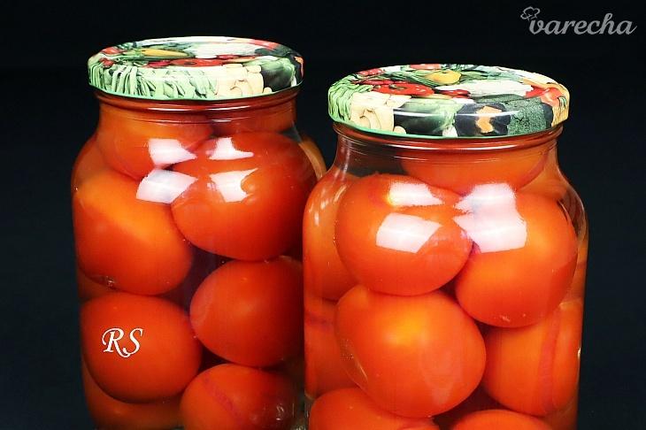 Zavárané paradajky bez sterilizácie