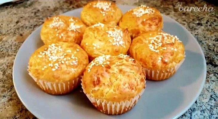 Syrové muffiny (videorecept)