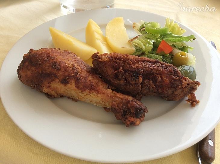 Vyprážané chrumkavé kura