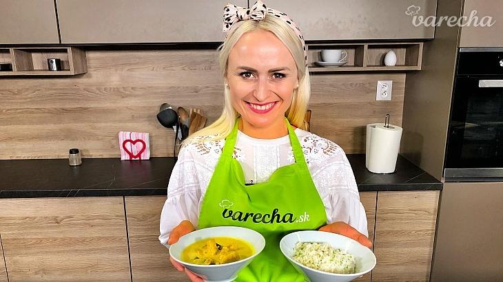 Kura na karí s basmati ryžou podľa Janais...