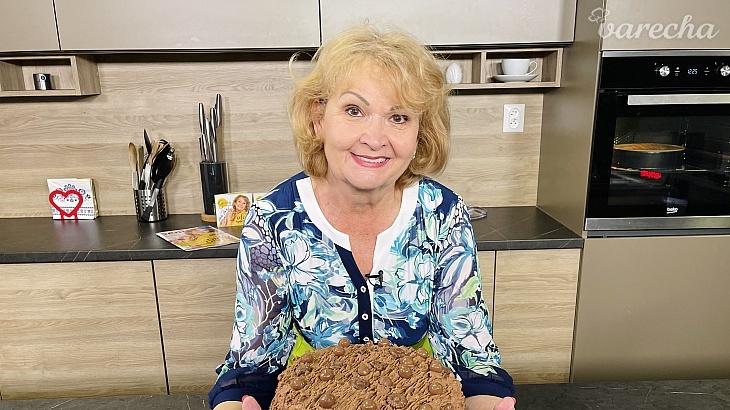 Piškótová torta podľa Gizky Oňovej...