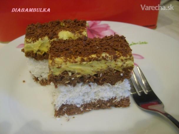 5aca0debc7f6e Strúhaný kokosový koláč s krémom - Recept