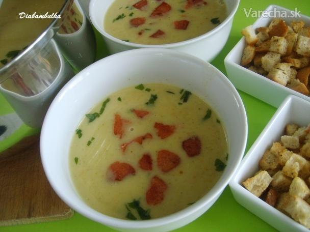1fa85054b Krémová zeleninová polievka s ovsenými vločkami - Recept