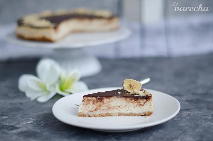 Cheesecake banány v čokoláde