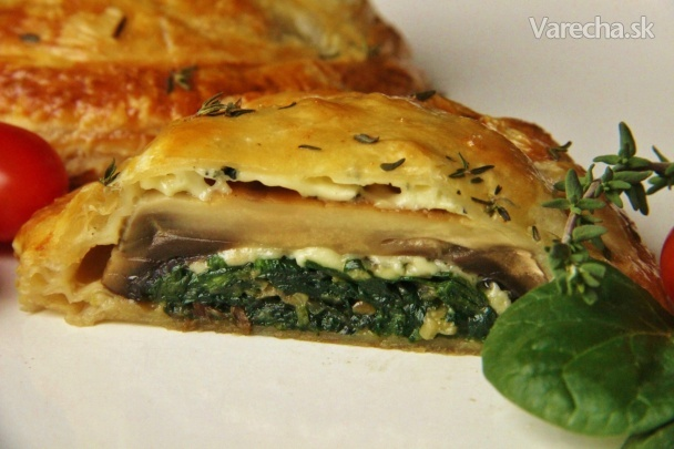 Žampiony Wellington (fotorecept)