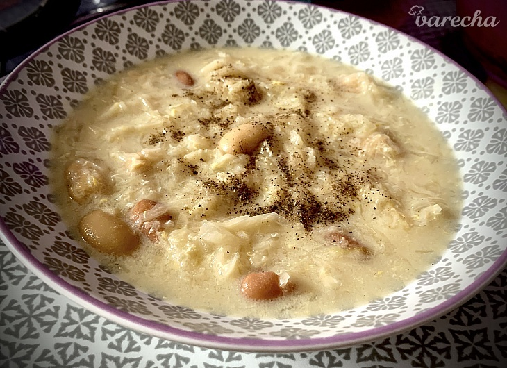 Fazuľovo-kapustová polievka šútolica