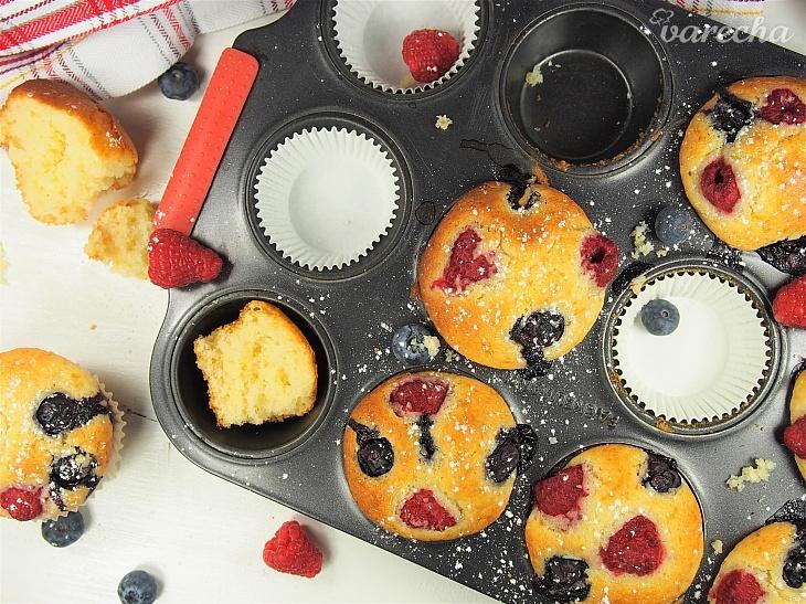 Ovocné muffiny bez lepku