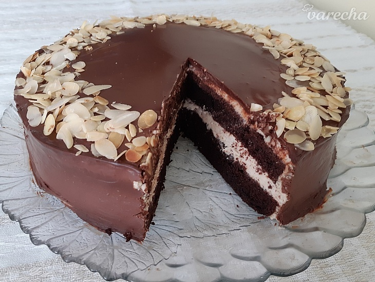 Jednoduchá čokoládovo-gaštanová torta s...