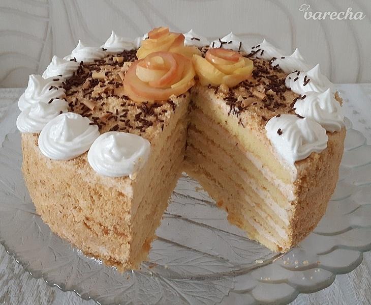 Jablkovo-smotanová torta Apfelmus