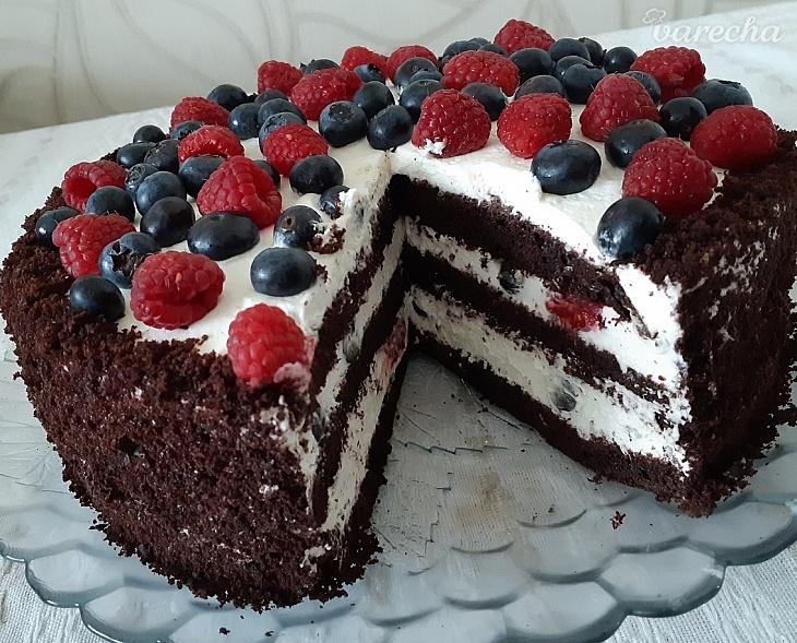 Fantastická čokoládovo-smotanová torta s...