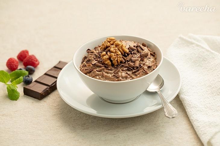 Rastlinný čokoládový chia puding (videorecept)