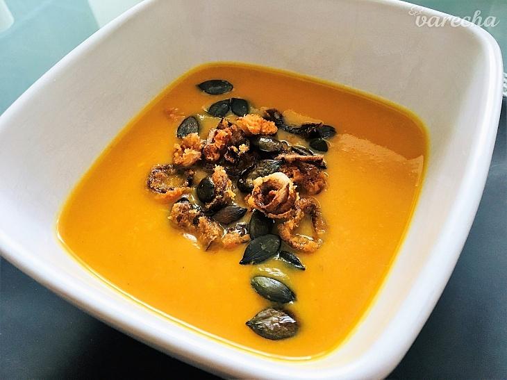 Krémová polievka z pečených batatov