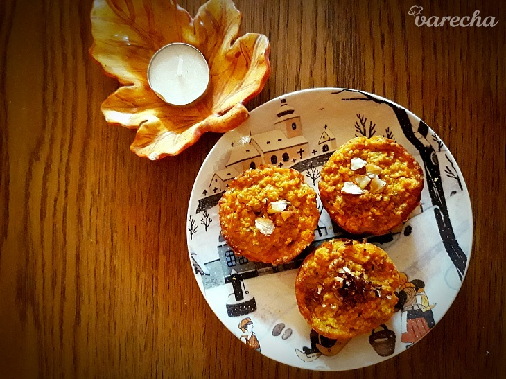 Fit tekvicové muffinky v troch krokoch