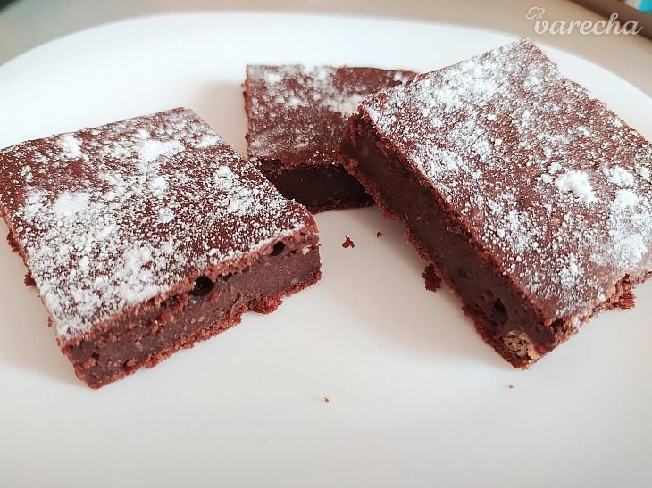 Vegánske brownies s gaštanovým pyré