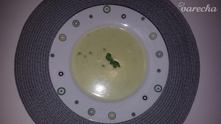 Krémová hrášková polievka