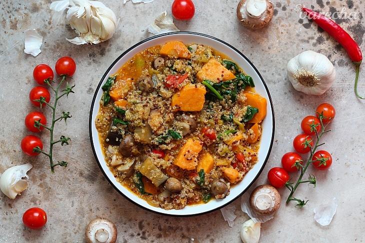 Quinoa guláš